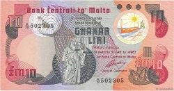 10 Liri MALTE  1979 P.36b SUP à SPL