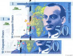 50 Francs SAINT-EXUPÉRY FRANCE  1993 F.72.02 NEUF