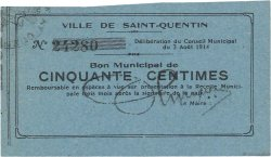 50 Centimes FRANCE régionalisme et divers  1914 JP.02-2029 SPL