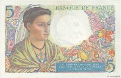 5 Francs BERGER FRANCE  1945 F.05.06 SUP+
