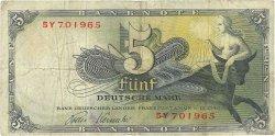 5 Deutsche Mark ALLEMAGNE FÉDÉRALE  1948 P.13e TB