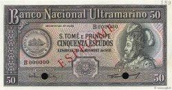50 Escudos SAINT THOMAS et PRINCE  1958 P.037s pr.NEUF