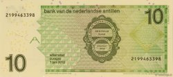 10 Gulden ANTILLES NÉERLANDAISES  2012 P.28f NEUF