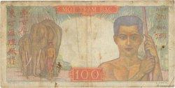 100 Piastres INDOCHINE FRANÇAISE  1947 P.082a B+