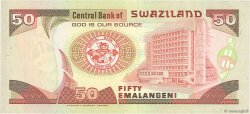 50 Emalangeni SWAZILAND  2001 P.31a NEUF