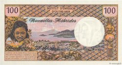 100 Francs NOUVELLES HÉBRIDES  1972 P.18b NEUF