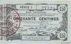 50 Centimes FRANCE régionalisme et divers LAON 1916 JP.02-1308 SUP