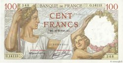 100 Francs SULLY  FRANCE  1940 F.26.36 SUP+