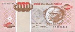 500000 Kwanzas Reajustados ANGOLA  1995 P.140 NEUF