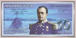 10 Dollars ANTARCTICA  2001  NEUF