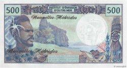 500 Francs type 1969 NOUVELLES HÉBRIDES  1979 P.19c NEUF