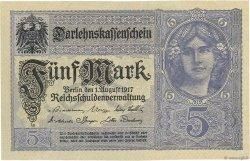 5 Mark ALLEMAGNE  1917 P.056b pr.NEUF