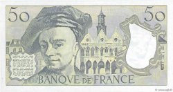50 Francs QUENTIN DE LA TOUR FRANCE  1987 F.67.13 SPL+