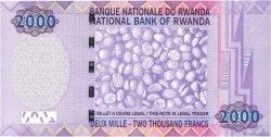 2000 Francs RWANDA  2007 P.32 NEUF