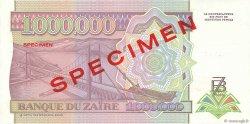 1000000 Zaïres ZAÏRE  1993 P.45s1 pr.NEUF