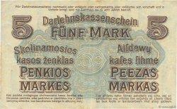 5 Mark ALLEMAGNE  1918 P.R130 pr.TTB
