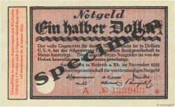 1/2 Dollar ALLEMAGNE  1923 Mul.0420s SPL