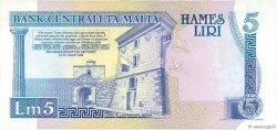 5 Liri MALTE  1989 P.42 SUP+
