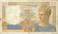 50 Francs CÉRÈS FRANCE  1934 F.17.02 pr.TB