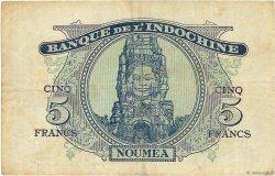 5 Francs NOUVELLES HÉBRIDES  1945 P.05 pr.TTB