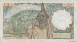 1000 Francs AFRIQUE OCCIDENTALE FRANÇAISE (1895-1958)  1953 P.42 TTB+
