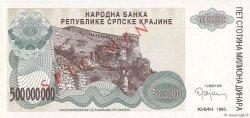500 000 000 Dinara CROATIE  1993 P.R26s NEUF