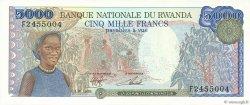 5000 Francs RWANDA  1988 P.22 NEUF