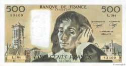 500 Francs PASCAL FRANCE  1983 F.71.28 SPL+