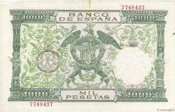 1000 Pesetas ESPAGNE  1957 P.149a TTB+