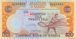 20 Tala SAMOA  1985 P.28 pr.NEUF