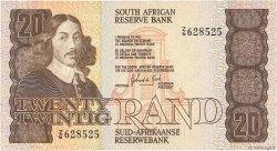 20 Rand AFRIQUE DU SUD  1982 P.121c SUP