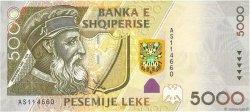 5000 Leke ALBANIE  2007 P.70b NEUF