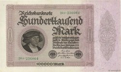 100000 Mark ALLEMAGNE  1923 P.083a pr.NEUF