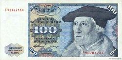 100 Deutsche Mark ALLEMAGNE FÉDÉRALE  1960 P.22a TTB+