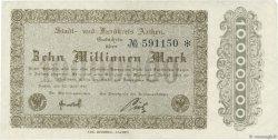 10 Millions Mark ALLEMAGNE Aachen - Aix-La-Chapelle 1923  SUP