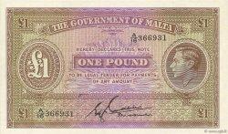 1 Pound MALTE  1940 P.20b pr.NEUF