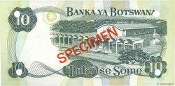 10 Pula BOTSWANA  1982 P.09s1 NEUF