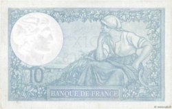10 Francs MINERVE modifié FRANCE  1940 F.07.24 SUP à SPL