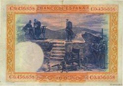 100 Pesetas ESPAGNE  1925 P.069a TTB