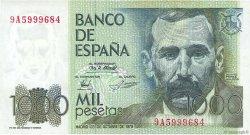 1000 Pesetas ESPAGNE  1979 P.158 SUP
