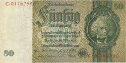 50 Reichsmark ALLEMAGNE  1933 P.182b SPL