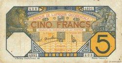 5 Francs DAKAR AFRIQUE OCCIDENTALE FRANÇAISE (1895-1958) Dakar 1932 P.05Bf TB+