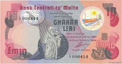 10 Liri MALTE  1979 P.36a TTB