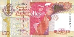 100 Rupees SEYCHELLES  2001 P.40 NEUF