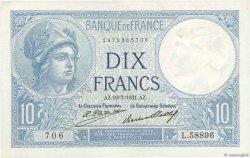 10 Francs MINERVE FRANCE  1931 F.06.15 pr.SUP