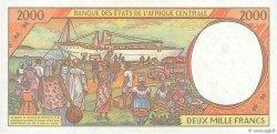 2000 Francs GABON  1993 P.403La NEUF