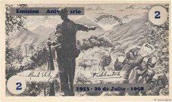 2 Pesos CUBA  1958  pr.NEUF