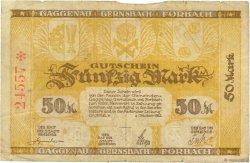 50 Mark ALLEMAGNE  1922  TB
