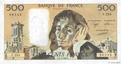 500 Francs PASCAL FRANCE  1989 F.71.40 SPL