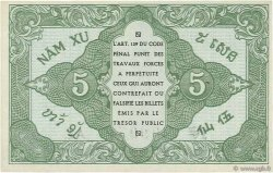 5 Cents INDOCHINE FRANÇAISE  1942 P.088a SPL+